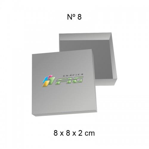 Caixa 08 (8cm x 8cm x 2cm)