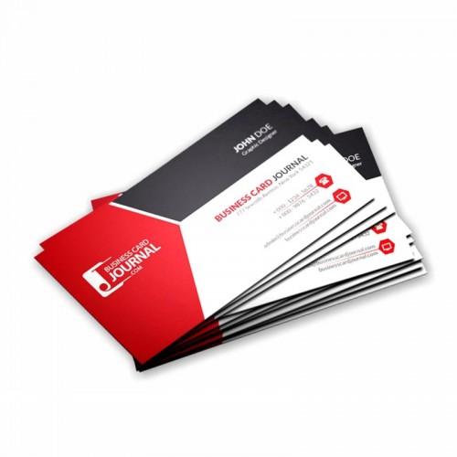 Cartão de visita empresarial 4x0